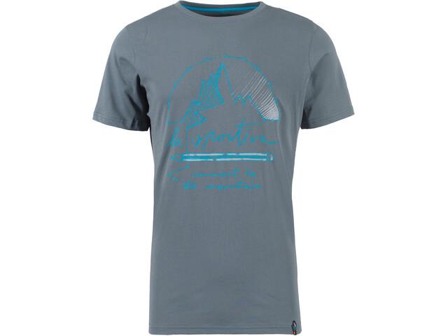 La Sportiva Connect T-Shirt Uomo, slate